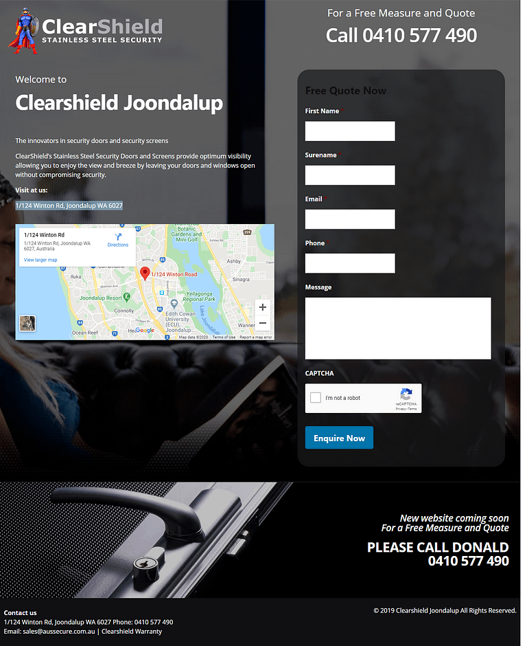 ClearShield Joondalup