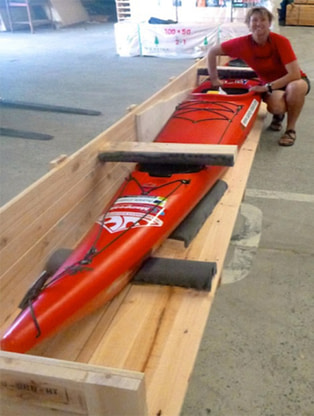 Timber Packaging Solutions To Keep Sandy Paddling
