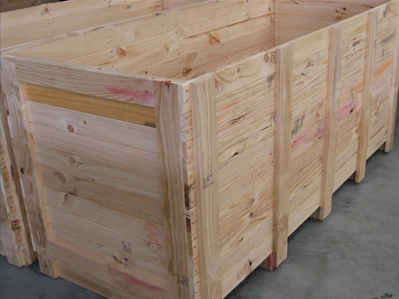 Timber Pallet Boxes